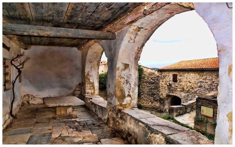 casas medievales antiguas