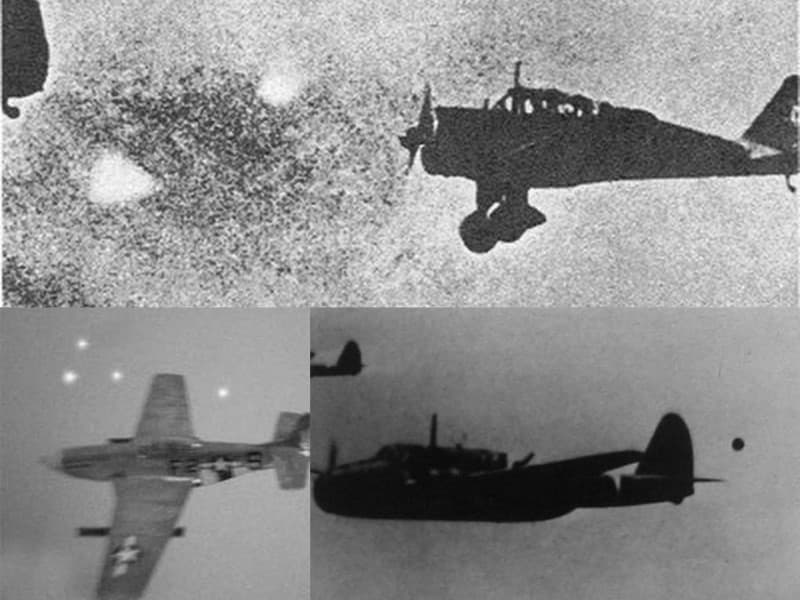 Foo Fighters en la Segunda Guerra Mundial