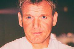 Gordon Ramsay close up