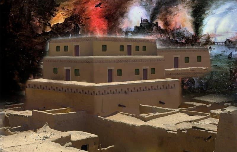Tall el Hammam destruccion