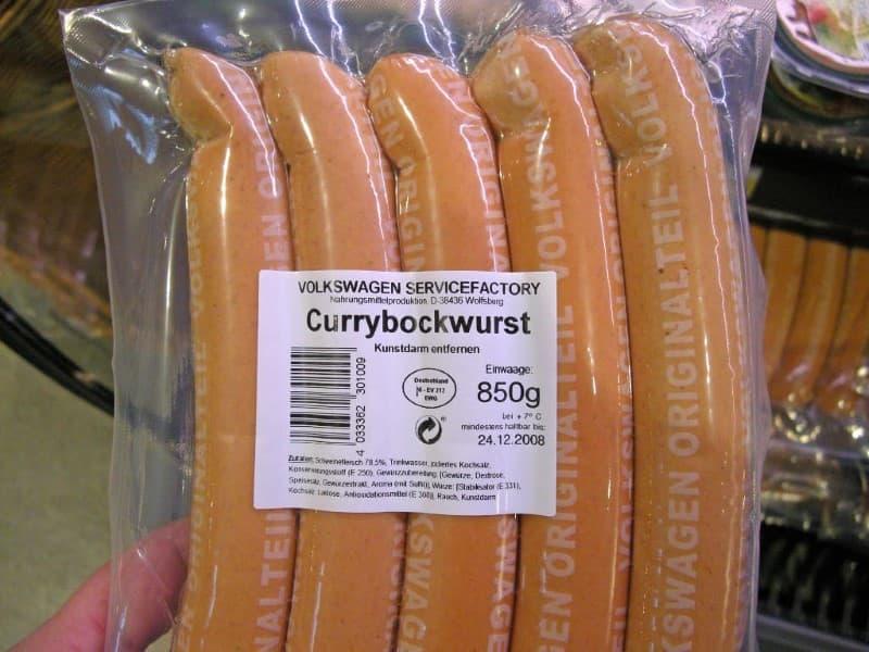 currywurst Volkswagen