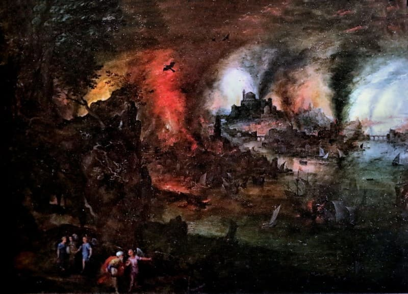destruccion de Sodoma