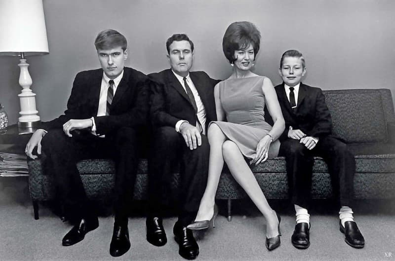 familia en 1960
