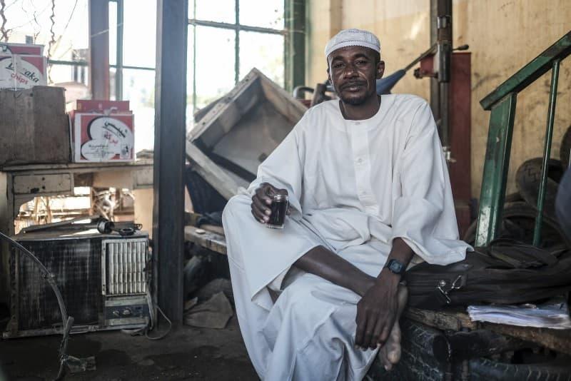musulman negro de sudan