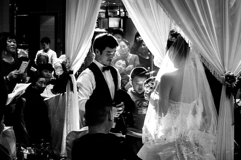 boda tradicional en China