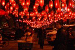 celebración en china
